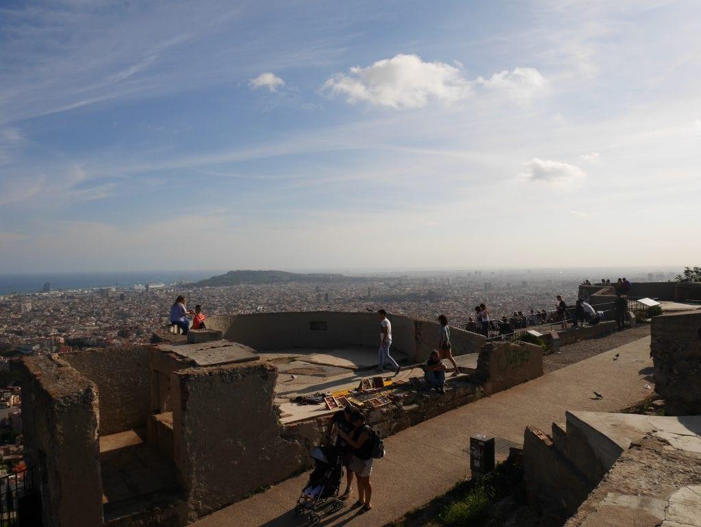 Barcelona Bunkers del Carmel. image by Samira Rauner.