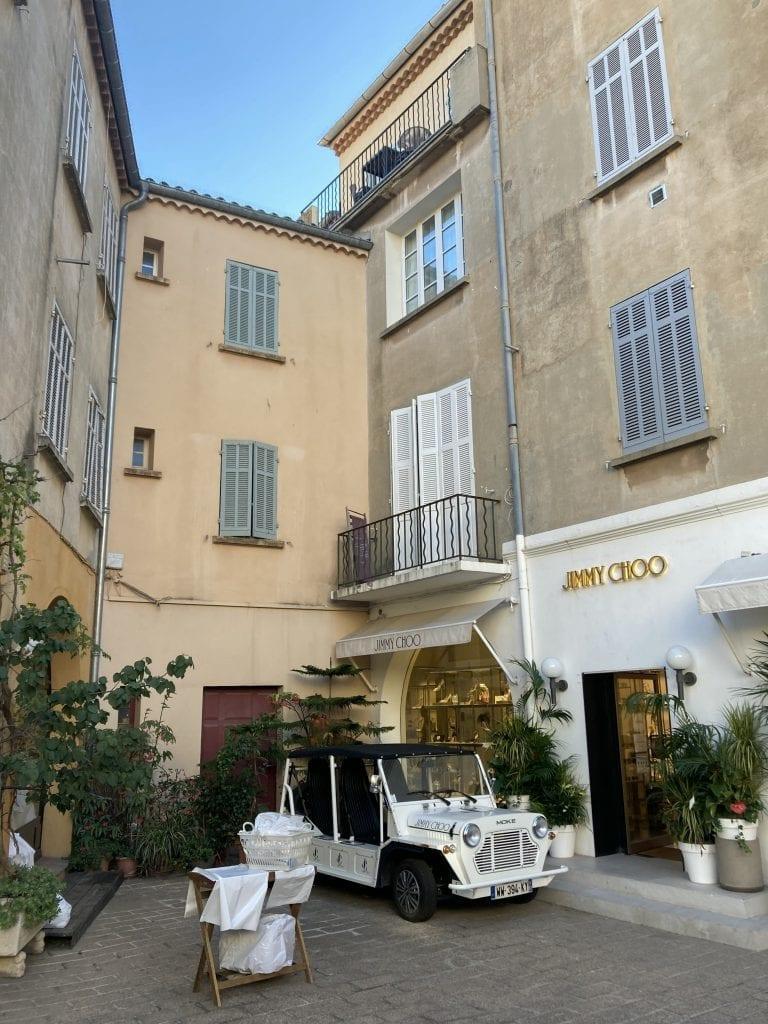 St. Tropez street; Côte d'Azur