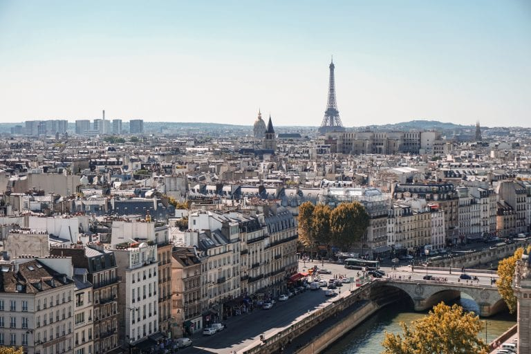 Travelling To: Paris, France