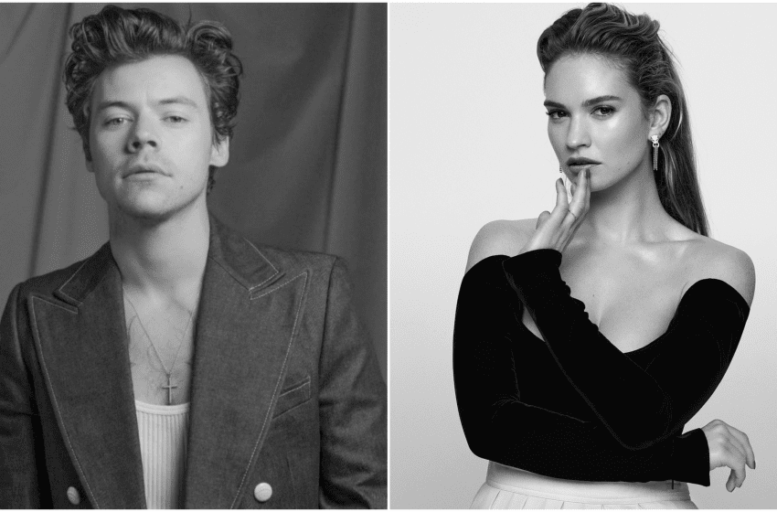 Harry Styles & Lily James In Talks To Star In LGBTQ+ Drama 'My Policeman'