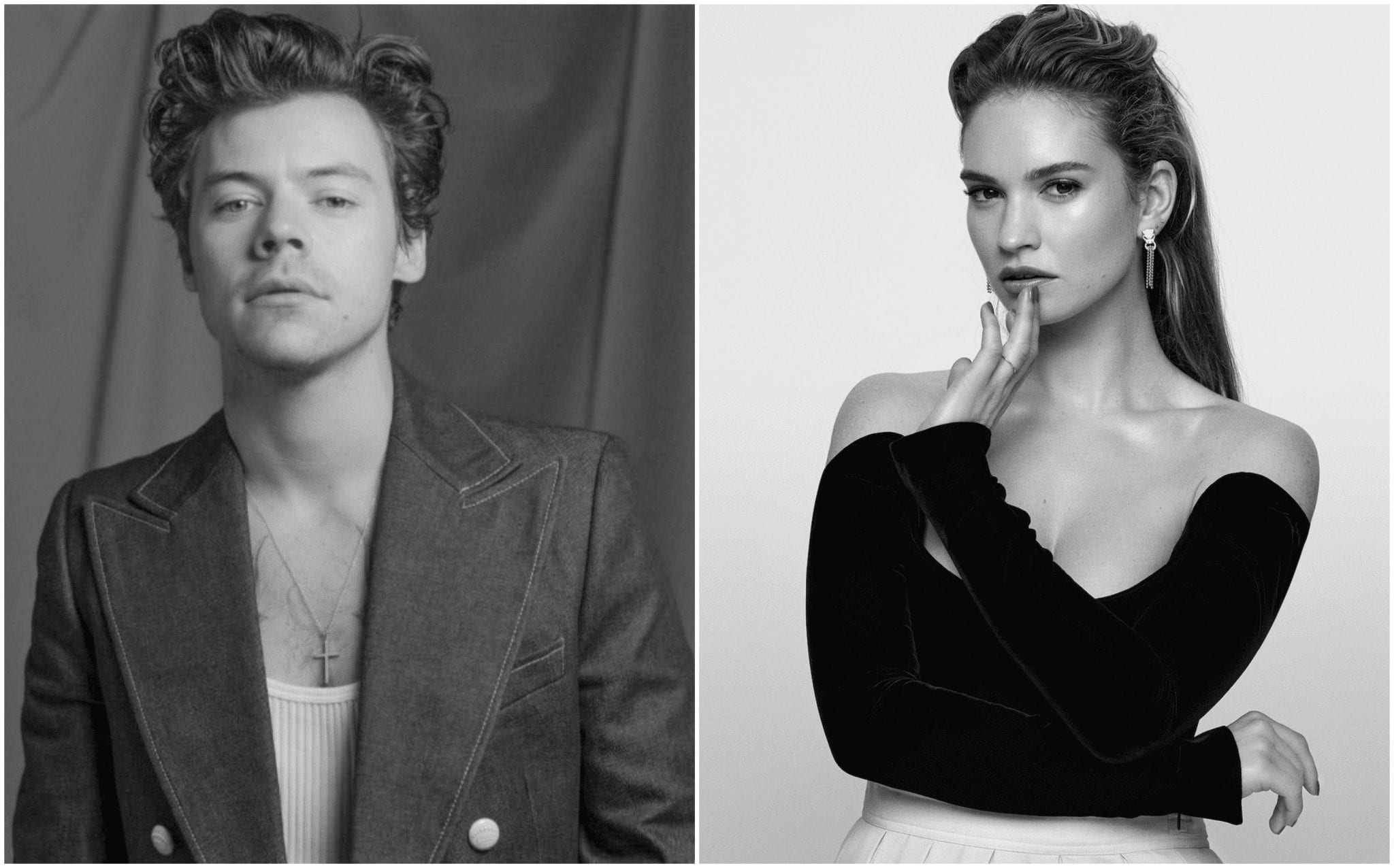my policeman harry styles lily james