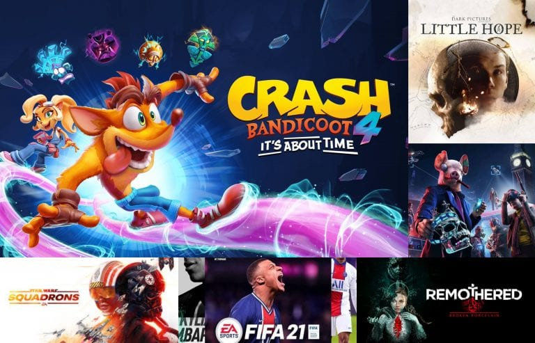 The Month in Games – October 2020