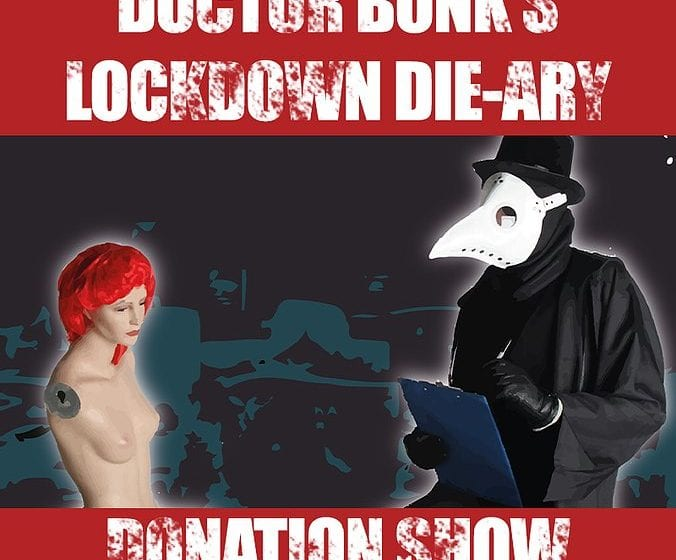 Theatre Review: Doctor Bonk's Lockdown Die-ary // Edinburgh Horror Festival