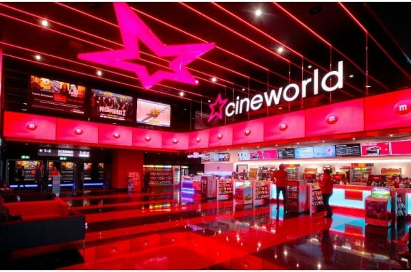 cineworld closed