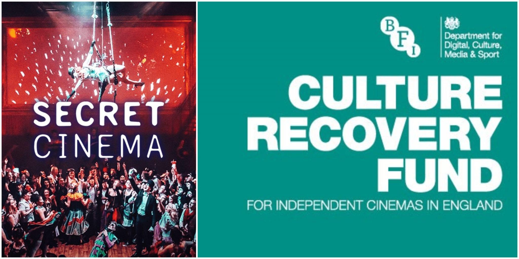 culture recovery fund secret cinema