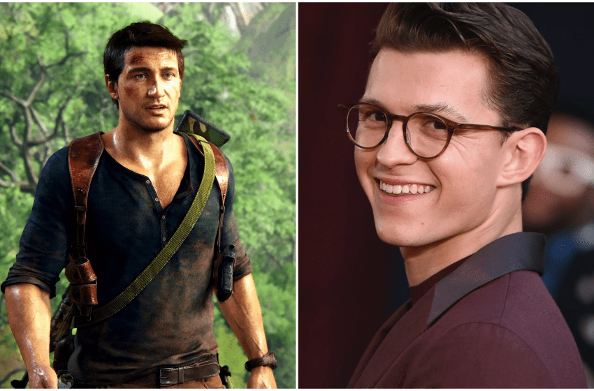 First Look At Tom Holland in 'Uncharted' Adaptation