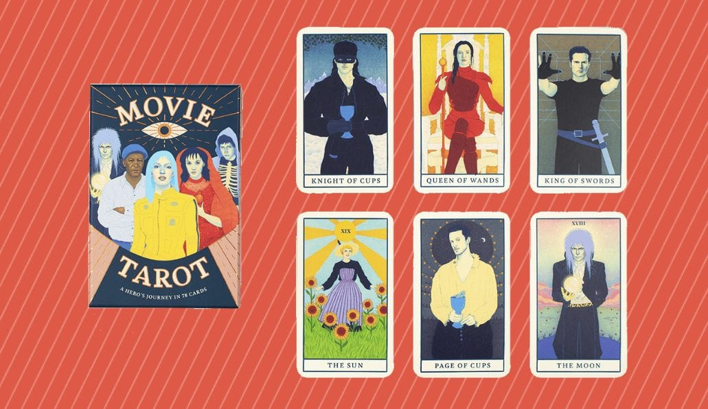 movie tarot cards gift