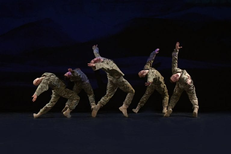 Theatre Review: Five Soldiers // Rosie Kay Dance Company