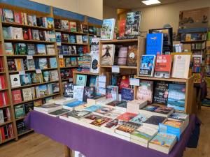 The Inside of Griffin Books in Penarth