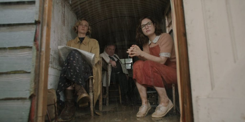 the dig film first look lily james carey mulligan