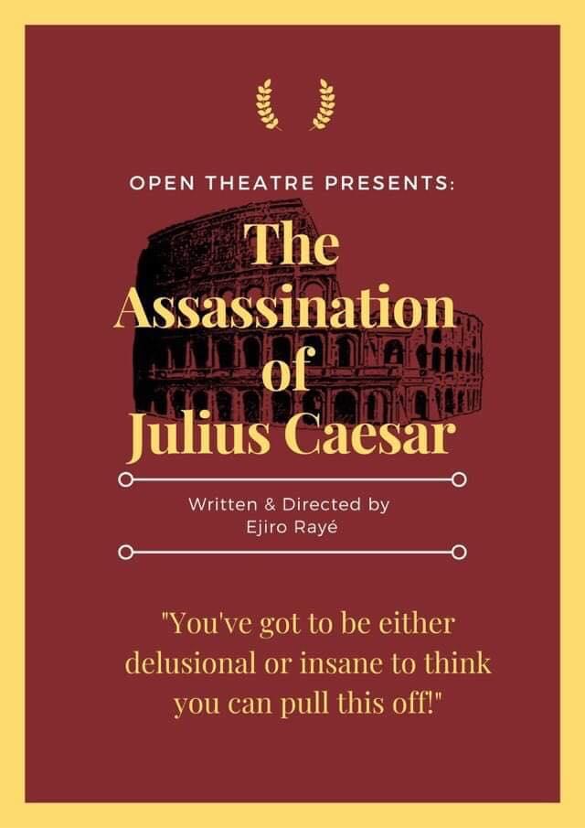 Theatre Review: The Assassination of Julius Caesar // Open Theatre