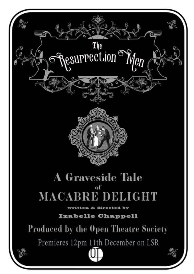 Theatre Review: The Resurrection Men // Open Theatre