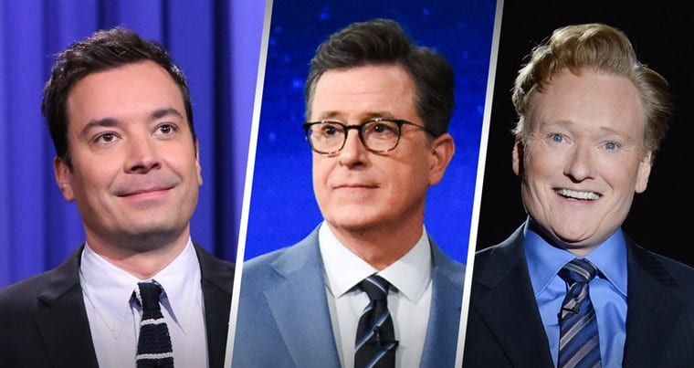 Late Night Show Hosts Ridicule Trump Amid Latest Scandal