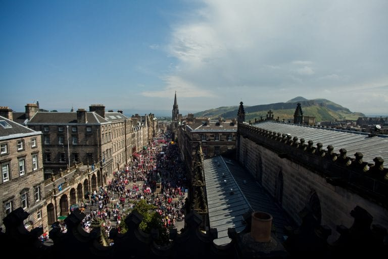 Edinburgh Festivals Hopeful Of 2021 Return