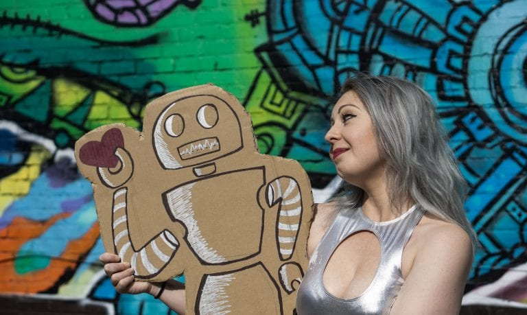 'Effing Robots' explores artificial intelligence with the answers to big questions and comedy: Review