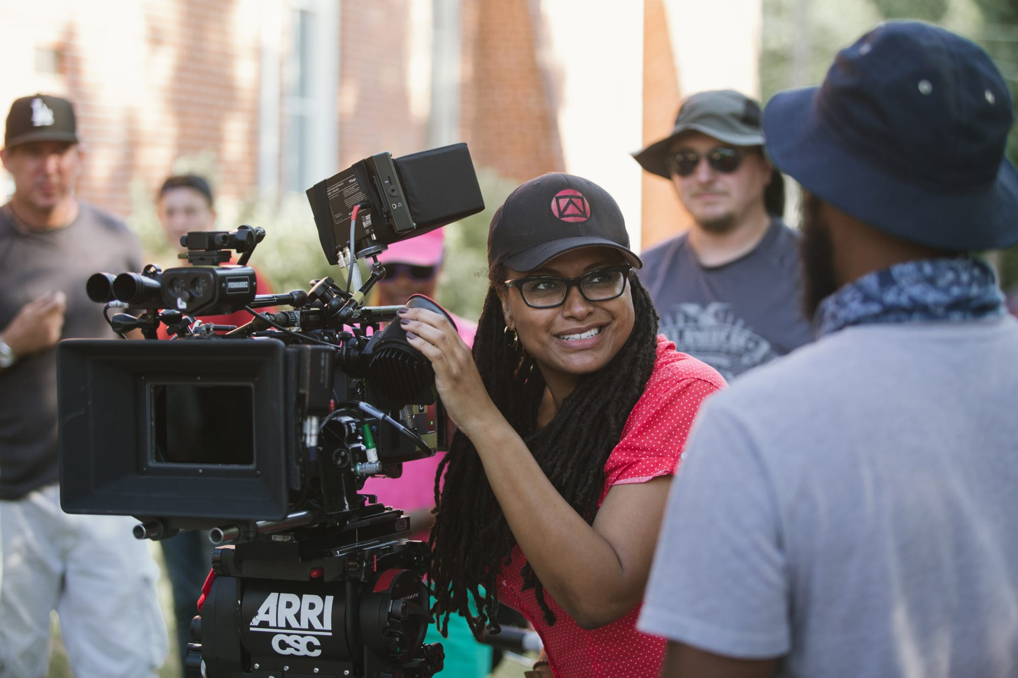 ava duvernay directing on the set of selma