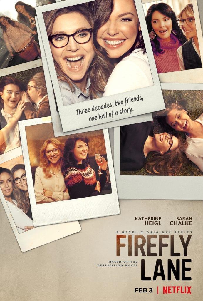 Netflix poster for Firefly Lane tv show