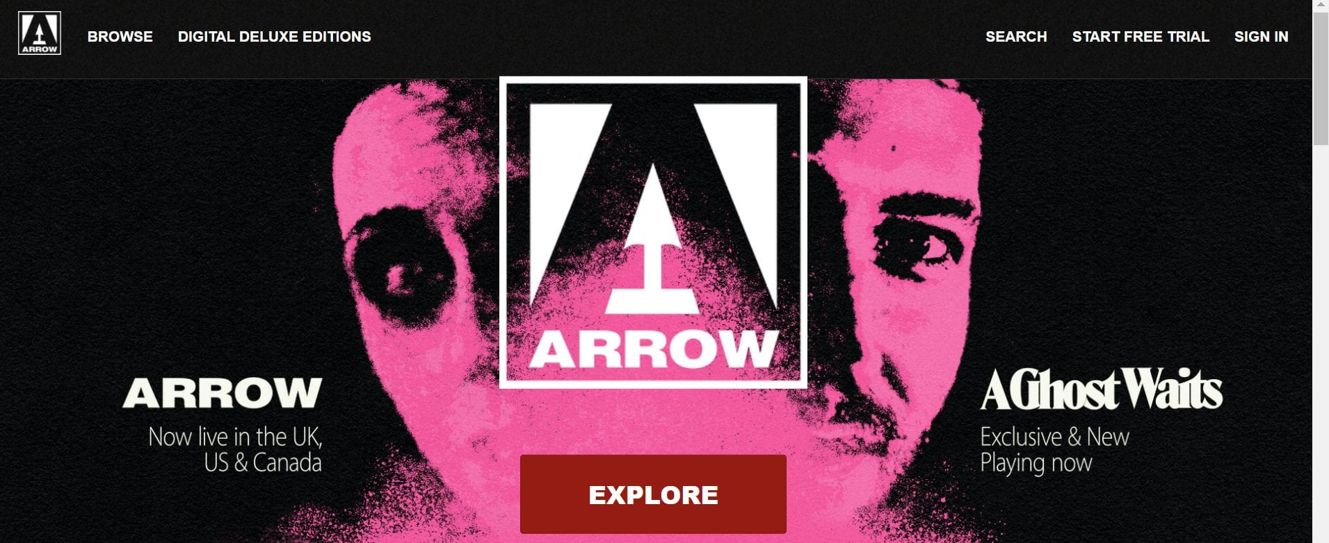 arrow player new streaming service
