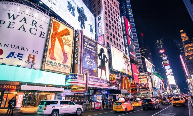 NYC Mayor Announces Plans To Reopen Broadway