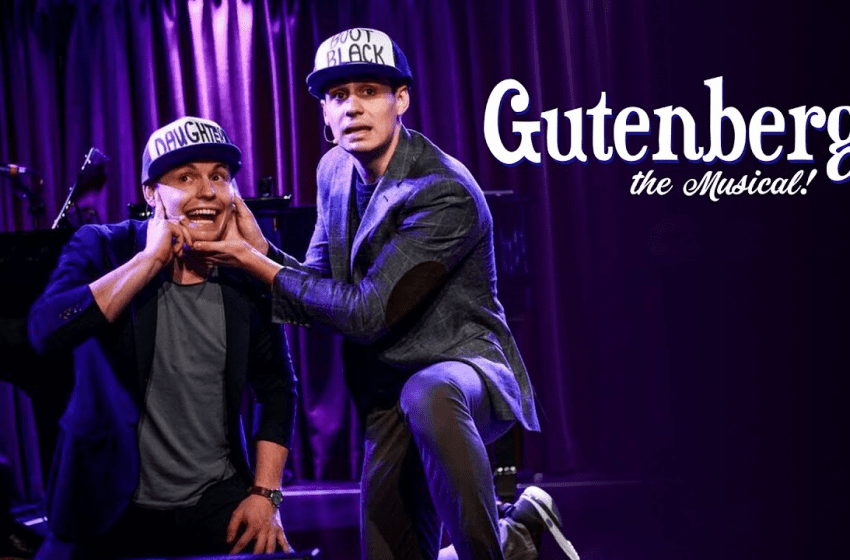 'Gutenberg! The Musical' Is A Sad Look Into Broadway's Possible Future: Review