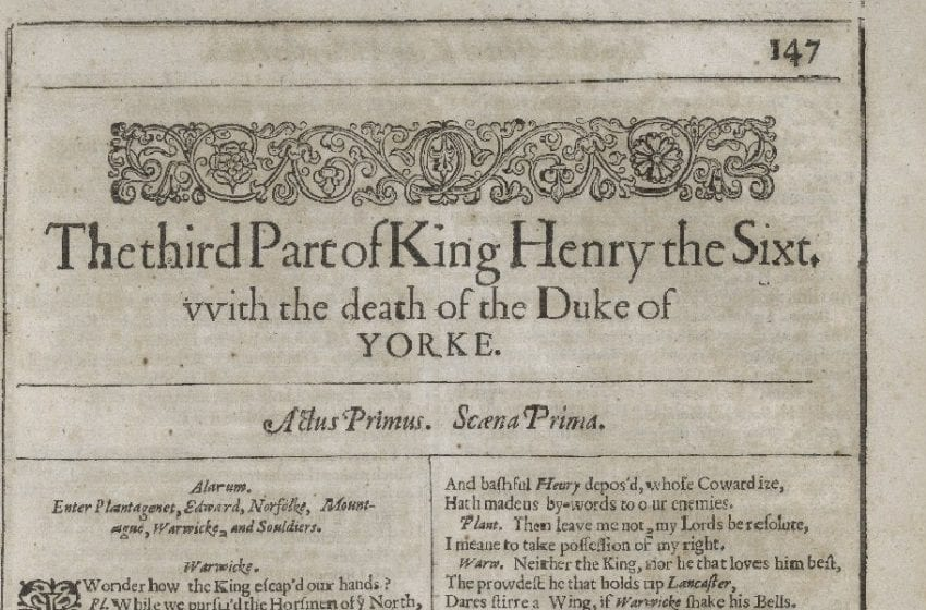 Revisiting 'Henry VI, Part III' – A Damning Vision Of Civil War