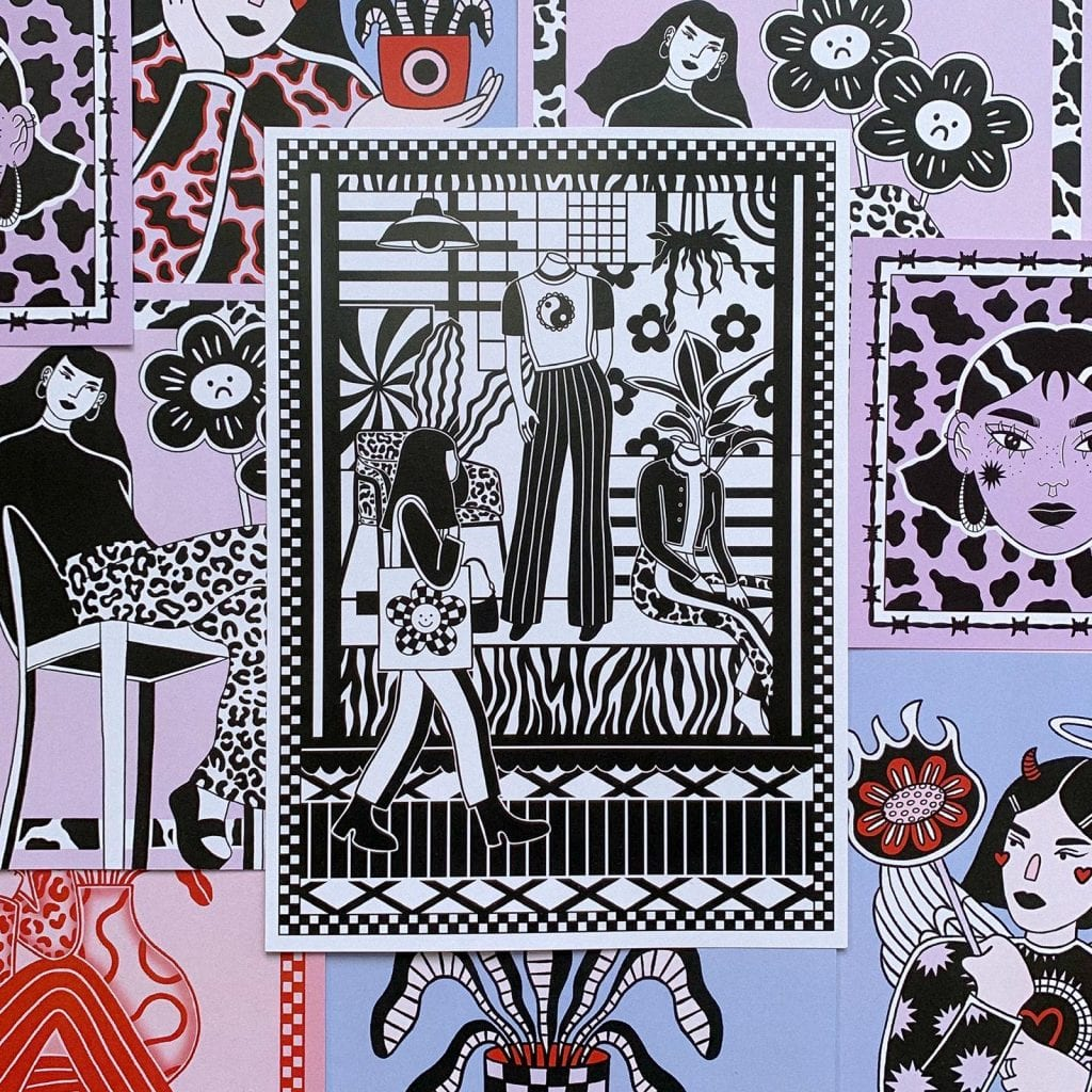 Eva Malley Art print