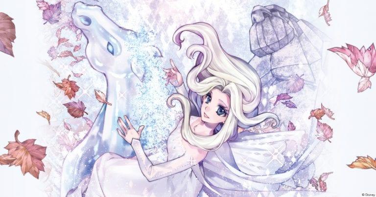 Magical Girl Meets Disney Princess Magic in Frozen 2: The Manga