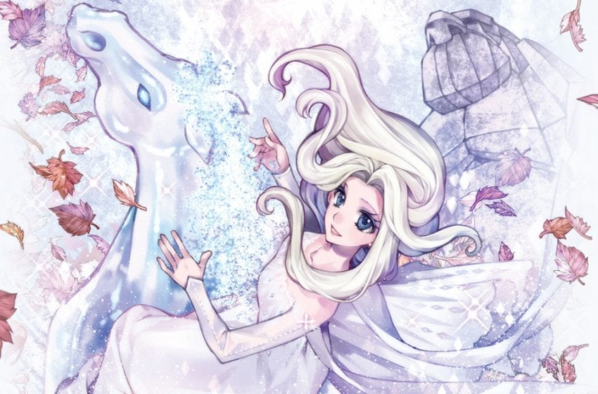 Magical Girl Meets Disney Princess Magic in Frozen 2: The Manga