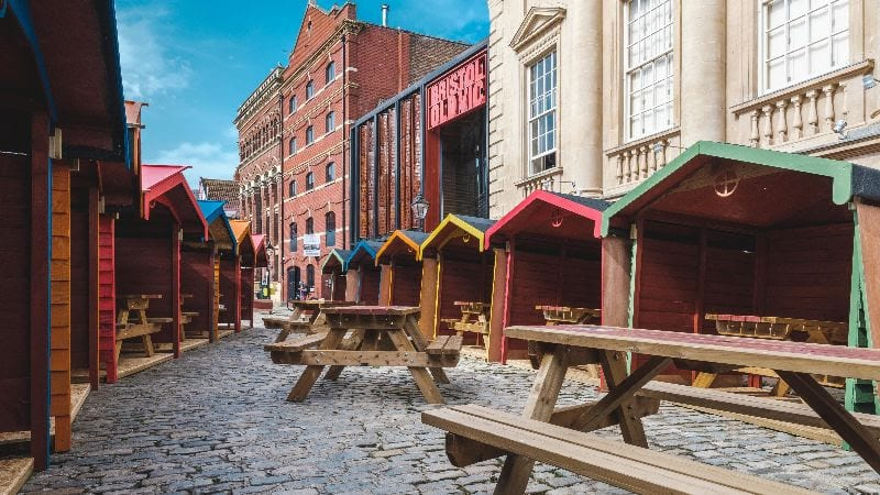 Bristol Old Vic Begin 'Beach Hut' Style Reopening
