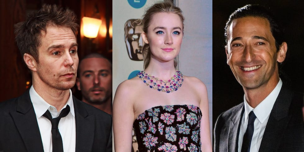 Adrien Brody, Sam Rockwell and Saoirse Ronan all star in the untitled murder mystery