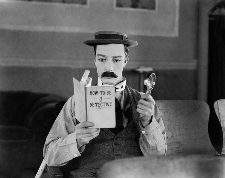 Buster Keaton in 'Sherlock Jr.'