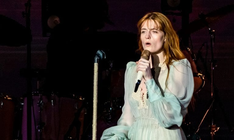 Florence Welch Writing 'The Great Gatsby' Musical