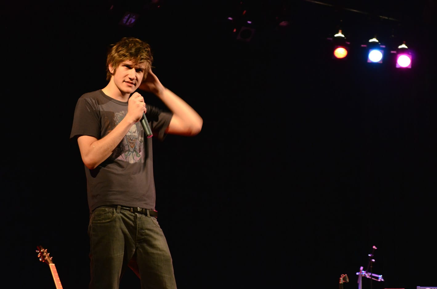 """Comedian, musician, actor, screenwriter, director, poet, and self-styled """"greatest rapper ever"""" Bo Burnham"""