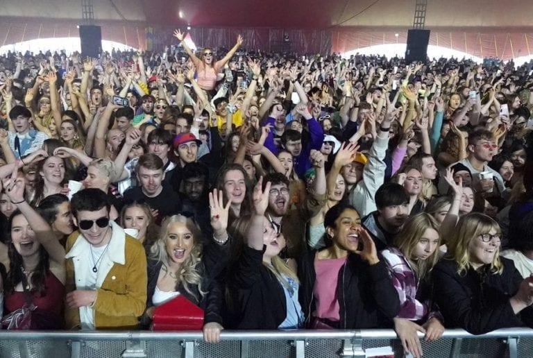 Blossoms Headline Pilot Festival Sparking Hope for Live Music
