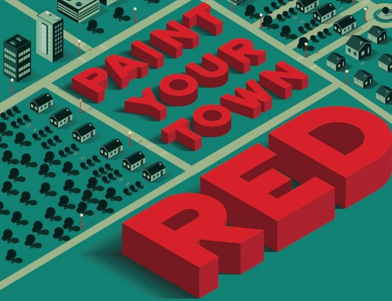 Book Review: Paint Your Town Red // Matthew Brown and Rhian Jones