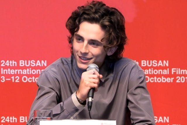 Timothée Chalamet To Play Willy Wonka In Movie Prequel