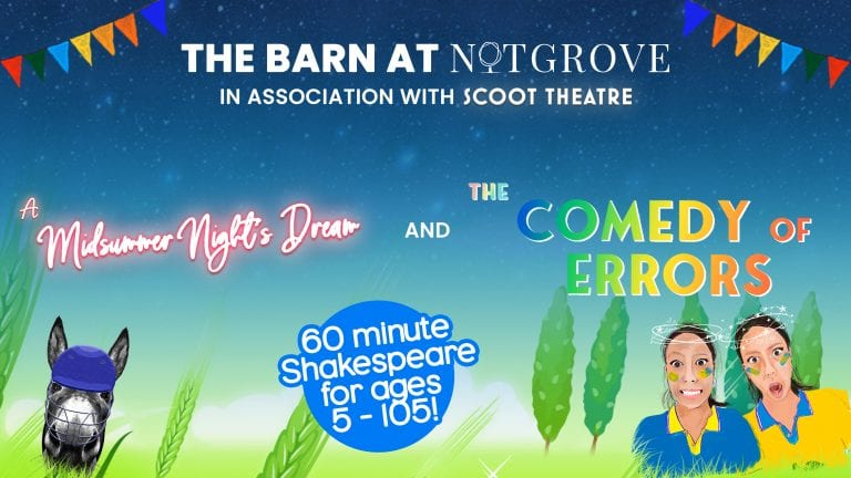 Double Bill Of Shakespearian Comedy To Be Staged At Notgrove Estate