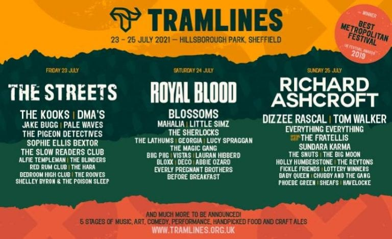 Sheffield Music Festival Tramlines 2021 Sells Out With Waiting List Now Open