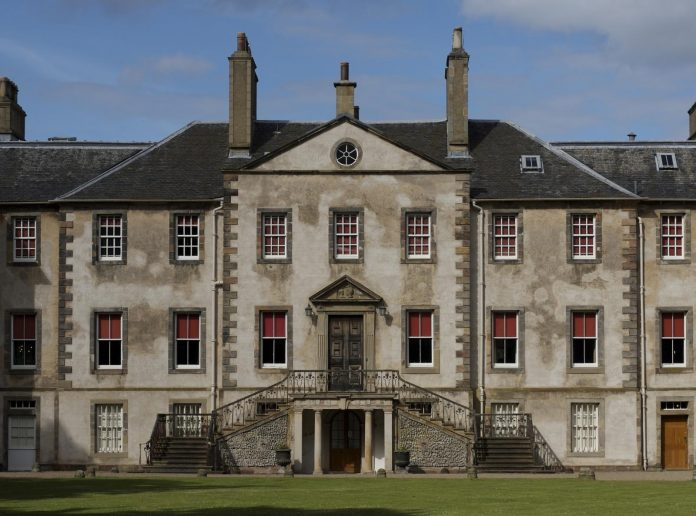 Newhailes House, the venue where Doppler will be held