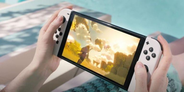 Nintendo Unveils New Upgraded OLED Switch Model