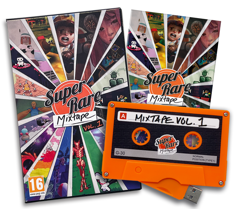 The 'Super Rare Mixtape Vol. 1' Is A Must For Game Preservationists