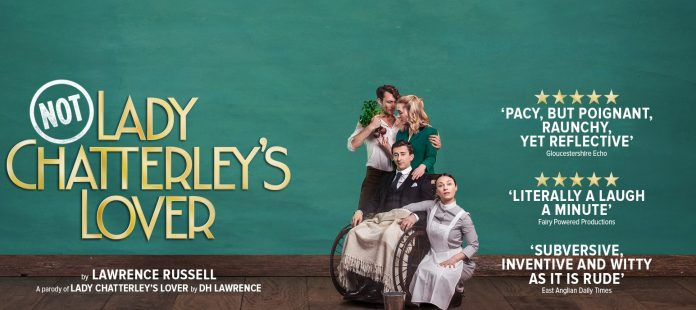 not: lady chatterley's lover, poster