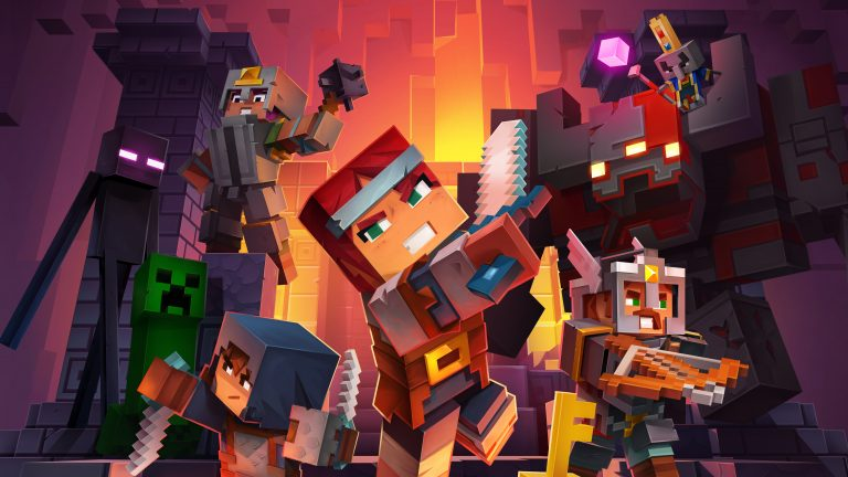 Minecraft Dungeons Available as Free Trial to Switch Online Members