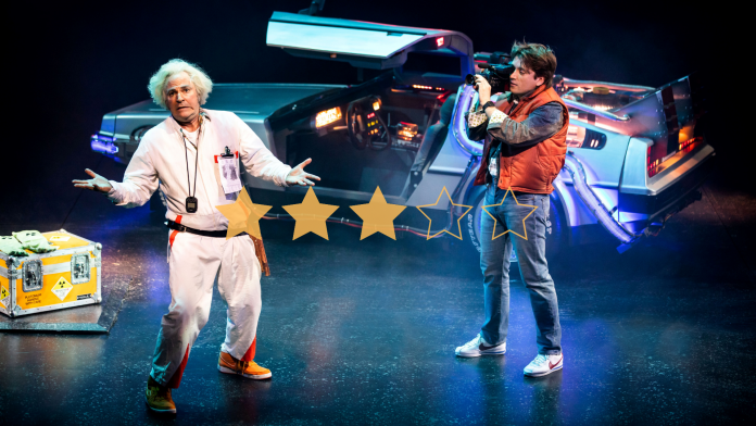 3 Stars Back To The Future: The Musical