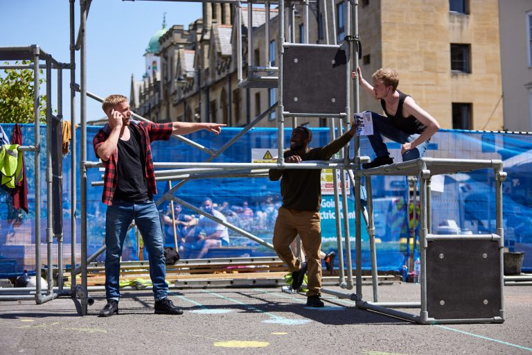 New Parkour Theatre Performance Will Expose Modern-Day Slavery