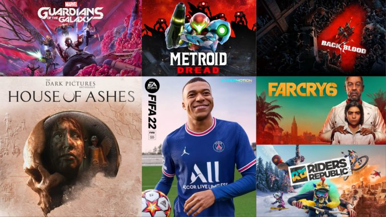 The Month in Games: October 2021
